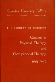 coursework for occupational therapy