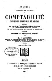 Cours théorique et pratique de comptabilité commerciale: industrielle et ...