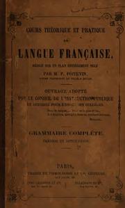 Cours théorique et pratique de langue française ouvrage redigé sur un plan ...