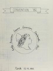 Covention '82 , Early American Copper Covention, Cincinnati, Ohio, March 12-14, 1982
