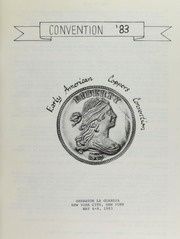 Covention '83 , Early American Copper Covention,Sheraton La Guardia, New York City, New York, May 6-8, 1983