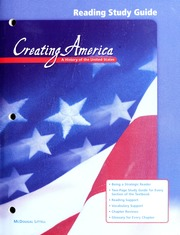 Creating America : a history of the United States : McDougal