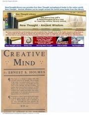 PDF MIND CREATIVE ERNEST BY HOLMES