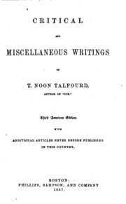 critical and miscellaneous essays Click to read more about critical and miscellaneous essays by thomas carlyle librarything is a cataloging and social networking site for booklovers.