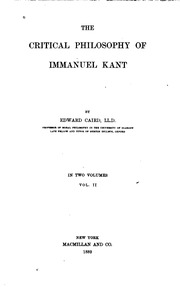 philosophy essays kant The categorical imperative of immanuel kant's philosophy what would you do if you saw a little old lady with a cane walking slowly across a busy street without.