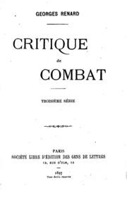 Critique de combat