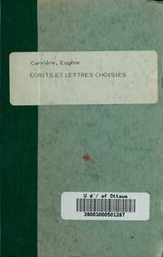 Écrits et lettres choisies