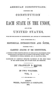 an introduction to the articles of confederation in the united states The first written constitution of the united states, articles of confederation was written with the intention to an introduction to the articles of confederation.