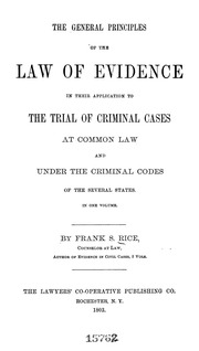 laws of criminal evidence q a Tampering with evidence is the crime of altering, destroying, or concealing physical evidence with the intent to affect the outcome of a criminal.