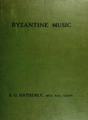 essays on music in the byzantine world