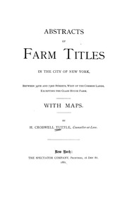 Abstracts of farm titles in...