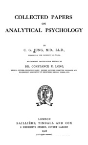 two essays on analytical psychology jung The liaison between analytic psychology and existential philosophy is   moreover, we will see that both jung (in two essays in analytical.