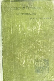 schopenhauer essays gutenberg Digitized and proofread by project gutenberg the essays of arthur schopenhauer on human nature by arthur arthur schopenhauer is one of the most important 19th century philosophers essay on the freedom of the will schopenhauer summary.