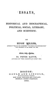 historical and political essays lecky william edward hartpole  essays historical and biographical political social literary and scientific