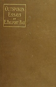 outspoken essays Partner institution members: login to download this book if you are not a member of a partner institution, whole book download is not available.