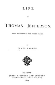 an introduction to the life of thomas jefferson the third president of the united states Thomas jefferson won the election and the presidency february 17  on february 17, 1801, thomas jefferson was elected president of the united states,.