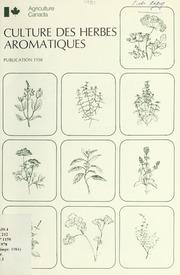 Culture des herbes aromatiques