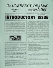 The Currency Dealer Newsletter: September to December 1980