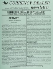 The Currency Dealer Newsletter: 1994