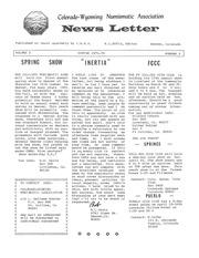 CWNA Newsletter: Winter 1971
