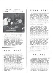 CWNA Newsletter: Summer 1974