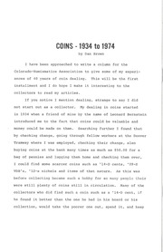 CWNA Newsletter: Winter 1975