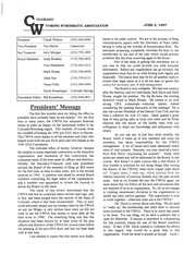 CWNA Newsletter: June 1997