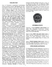 CWNA Newsletter: December 1998
