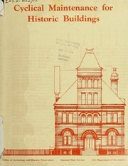 Cyclical Maintenance for Historic Buildings