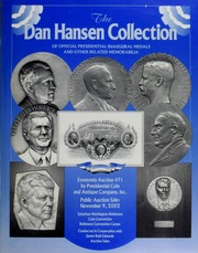 Dan Hansen Collection of Official Presidential Inaugural Medals (pg. 37)