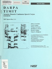 Darpa timit: acoustic-phonetic continuous speech corpus cd-rom.