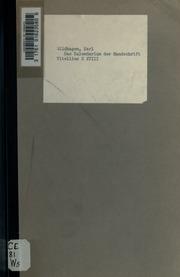 Das Kalendarium der Handschrift Vitellius E XVIII, Brit. Mus.; ein Beitrag zur Chronologie und Hagiologie Altenglands