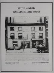 David J. Sklow Fine Numismatic Books Mail Bid Sale No. 5