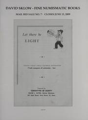 David Sklow Fine Numismatic Books Mail Bid Sale No. 7