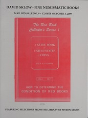 David Sklow Fine Numismatic Books Mail Bid Sale No. 8