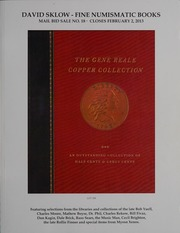 David Sklow Fine Numismatic Books Mail Bid Sale No. 18
