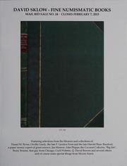 David Sklow Fine Numismatic Books Mail Bid Sale No. 24