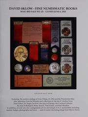 David Sklow Fine Numismatic Books Mail Bid Sale No. 25