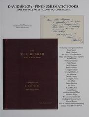 David Sklow Fine Numismatic Books Mail Bid Sale No. 26