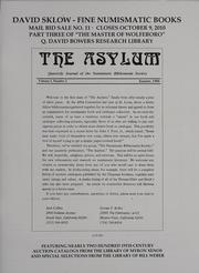 David Sklow Fine Numismatic Books Mail Bid Sale No. 11