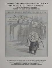 David Sklow Fine Numismatic Books Mail Bid Sale No. 14
