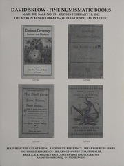 David Sklow Fine Numismatic Books Mail Bid Sale No. 15