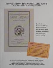 David Sklow Fine Numismatic Books Mail Bid Sale No. 16