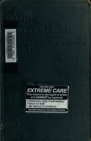 Death and sudden death