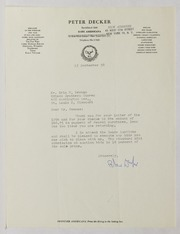 Peter Decker Correspondence, 1958-1966 (pg. 55)