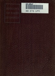 essays from the spectator A scholarly edition of essays by joseph addison the edition presents an authoritative text, together with an introduction, commentary notes, and scholarly apparatus.