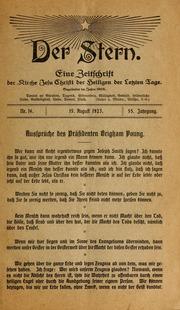 Vol 55 no. 16: Der Stern