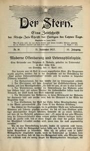 Vol 55 no. 18: Der Stern