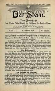 Vol 55 no. 22: Der Stern