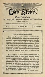 Vol 55 no. 24: Der Stern